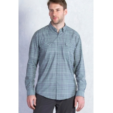 Men's Minimo Plaid Long Sleeve Shirt by ExOfficio