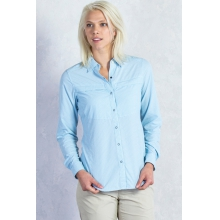Women's Bugsaway Halo Long Sleeve Shirt by ExOfficio in Fort Collins Co