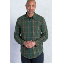 Men's Kelion Plaid Long Sleeve Shirt by ExOfficio in Montgomery Al
