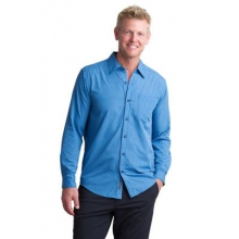 Men's Salida Plaid Shirt Long Sleeve Shirt by ExOfficio