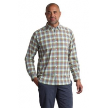 Men's Sol Cool Leman Plaid Long Sleeve Shirt by ExOfficio