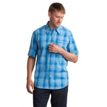 Men's Lampara Plaid Short Sleeve Shirt
