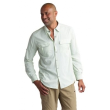 Men's BugsAway Halo Check Long Sleeve Shirt by ExOfficio in Alpharetta Ga