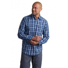 Men's BugsAway Sol Cool Plaid Long Sleeve Shirt by ExOfficio in Corvallis Or