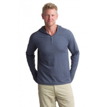 Men's BugsAway Lumos Knit Hoody by ExOfficio in Paramus Nj