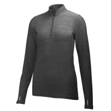 W Aspire Flex 1/2 Zip Ls