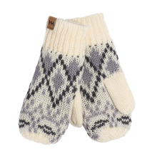 Womens Heritage Knit Mittens