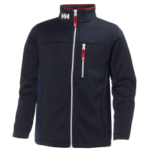 Junior's Crew Fleece Jacket by Helly Hansen