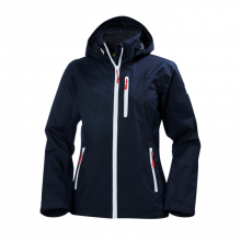Women's Crew Hooded Jacket by Helly Hansen