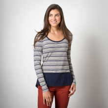 Stripeout Solid Hem Tee by Toad&Co in Corvallis Or
