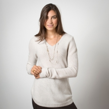 Galena V-Neck Sweater by Toad&Co in Peninsula Oh