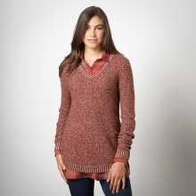Galena V-Neck Sweater by Toad&Co in Boulder Co