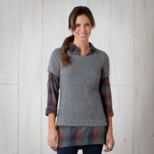 Kinley SS Sweater by Toad&Co in Holland Mi