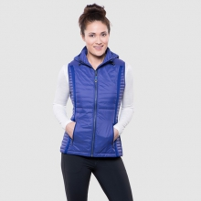 Women's Spyfire Hooded Vest by Kuhl in Canmore Ab
