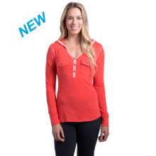 Women's Sora Hoody by Kuhl in Rogers Ar