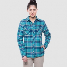 Amaya Flannel by Kuhl in Canmore Ab