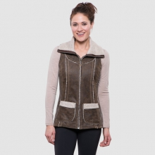 Women's Dani Sherpa Vest by Kuhl in Lake Geneva Wi