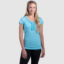 Women's Vega SS Henley by Kuhl in Canmore Ab
