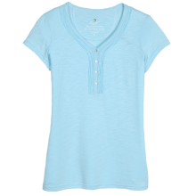 Women's Vega SS Henley by Kuhl in Knoxville Tn