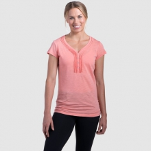 Women's Vega SS Henley by Kuhl in New Orleans La