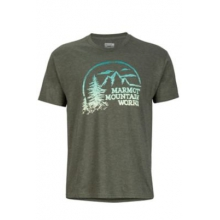 Men's Halation Tee SS by Marmot in Banff Ab