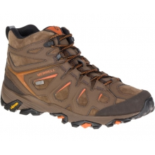 Men's Moab FST Leather Mid Waterproof Wide by Merrell