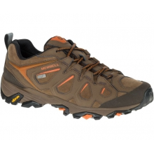 Men's Moab FST Leather Waterproof Wide by Merrell