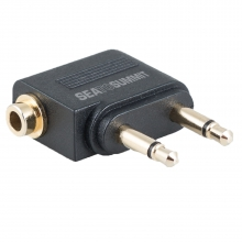 Travelling Light Airline Audio Adaptor