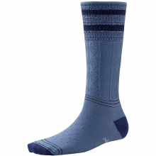 Metallic Striped Cable Mid Calf by Smartwool in Troy Oh