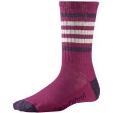 Women's Striped Hike Light Crew Socks by Smartwool