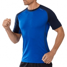 Men's PhD Ultra Light Short Sleeve by Smartwool in Troy Oh