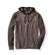 Men's Kiva Ridge Striped Hoody by Smartwool