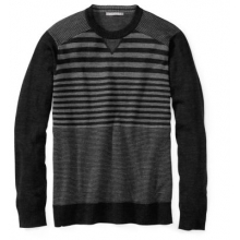 Men's Kiva Ridge Striped Crew by Smartwool