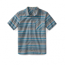 Men's Summit County Striped Shirt by Smartwool in Wakefield Ri