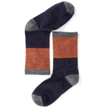 Boys' Tailored Stripe Crew Socks