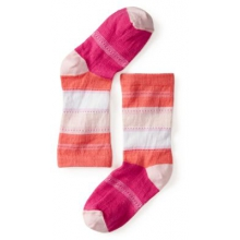 Girls' Sulawesi Stripe Crew Socks by Smartwool