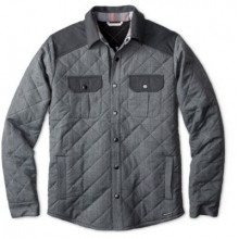 Men's Summit County Quilted Shirt Jacket by Smartwool in Wakefield Ri