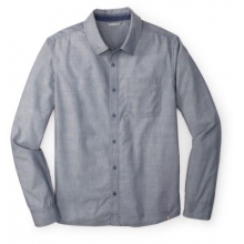 Men's Summit County Chambray Long Sleeve by Smartwool