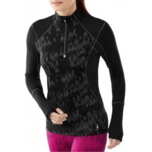 Women's PhD Light Printed Wind Zip T by Smartwool