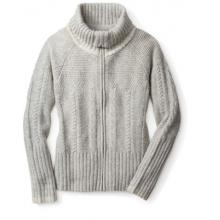 Women's Crestone Full Zip Sweater by Smartwool