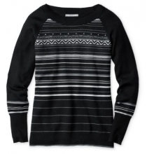 Women's Ethno Graphic Sweater