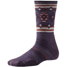 Women's PhD Outdoor Light Pattern Crew by Smartwool in Ponderay Id