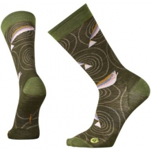 Men's Charley Harper Rocky Mountain Fish Crew by Smartwool