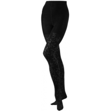 Women's Floral Scrolls Tight