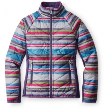 Girls' SmartLoft Printed Double Corbet 120 Jacket by Smartwool