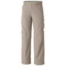 Boy's Silver Ridge III Convertible Pant by Columbia