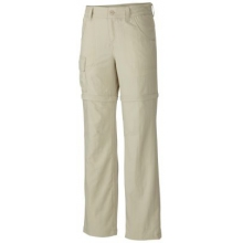 Girl's Silver Ridge III Convertible Pant by Columbia