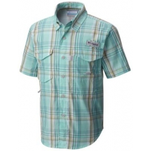 Boy's Super Bonehead Short Sleeve Shirt by Columbia