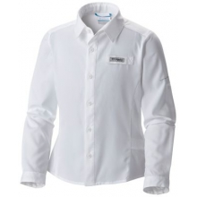 Kid's Tamiami Long Sleeve Shirt by Columbia in Old Saybrook Ct