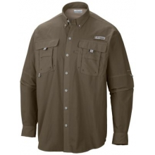 Men's Bahama II Long Sleeve Shirt by Columbia in Asheville Nc
